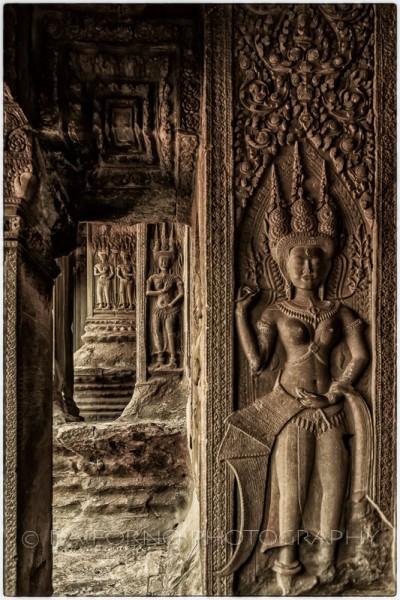 Cambodia - Angkor Wat Temple - Apsara -