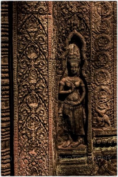 Cambodia - Angkor Wat Temple - Apsara