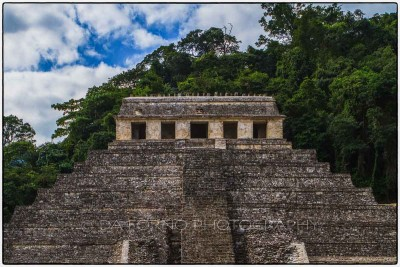 Mexico - Palenque - The Temple of the Inscriptions - Canon EOS 7D / EF 24-70mm f/2,8 L USM