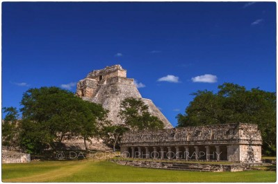 Mexico - Uxmal - Pyramid of the Magician - Canon EOS 7D / EF 24-70mm f/2,8 L USM