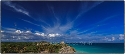 Mexico - Tulum - Seaside View - Canon EOS 5D III / EF 16-35mm f/2,8 L II USM