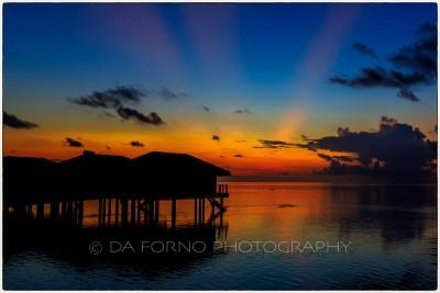 Maldives - Medhufushi Island - Sunset - Canon EOS 5D III / EF 16-35mm f/2,8 L II USM