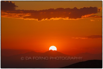 Cyclades Islands - Ios - Sunset on Milos - Canon EOS 7D / EF 70-200mm  f/2,8 L IS II USM