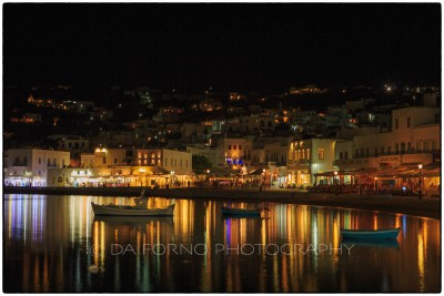 Cyclades Islands - Mykonos - Old Port of Mykonos by night - Canon EOS 5D III / EF 24-70mm f/2,8 L USM
