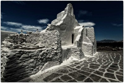 Cyclades Islands - Mykonos - Chora Church - Canon EOS 5D III / EF 16-35mm f/2,8 L II USM