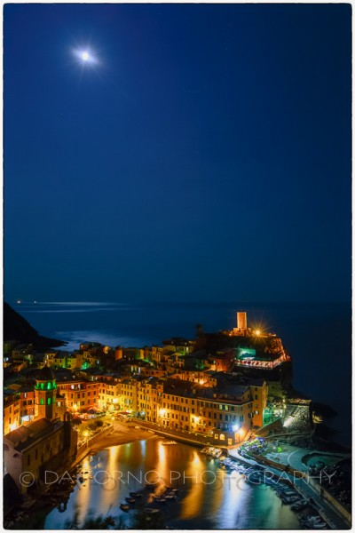 Italy - Cinque Terre - Vernazza by night - Canon EOS 5DIII - EF 16-35mm  f/2,8 L II USM