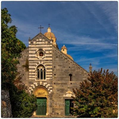Italy - Cinque Terre - Portovenere - Church - Canon EOS 5DIII - EF 16-35mm  f/2,8 L II USM