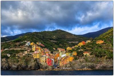 Italy - Cinque Terre - Riomaggiore - Canon EOS 5DIII - EF 16-35mm  f/2,8 L II USM
