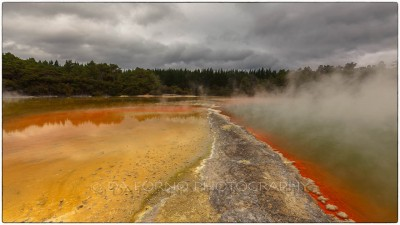New Zealand - Waiotapu Thermal Wonderland - Champagne Pool - Canon EOS 5D MII - EF 16-35mm f/2,8 L II USM