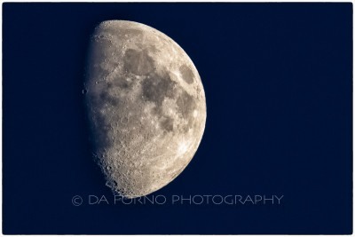 France - Paris - Moon - Canon EOS 7D / EF 400mm f/2,8 L IS II USM +2.0x III
