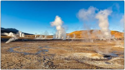 Chile - Geyser del Tatio